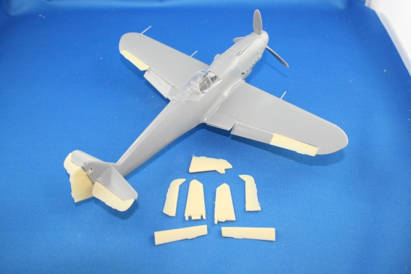 Nordwind 1/48 008 rudderset for Bf 109 types
